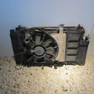 Toyota Yaris 2006-2009 T-Sport 1.8cc βενζίνα ΣΕΤ ψυγείων (ψυγείο νερού με βεντιλατέρ-ψυγείο A/C)