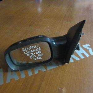 Renault Megane 2002-2008 καθρέπτης αριστερός ηλεκτρικός ανακλινόμενος 7 ακίδων μαύρος