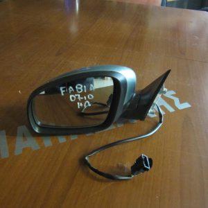 Skoda Fabia 2007-2010 καθρέπτης αριστερός ηλεκτρικός ασημολαδί