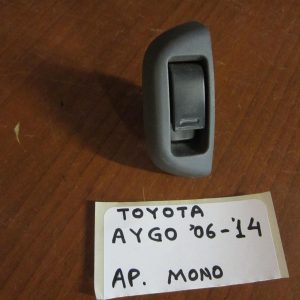 Toyota Aygo 2006-2014 διακόπτης παραθύρων ηλεκτρικός εμπρός αριστερός μονός