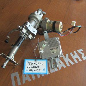 Toyota Corolla 2004-2006 κολώνα τιμονιού ηλεκτρική (ΚΩΔ. εγκεφάλου: NSK 89650-02150)