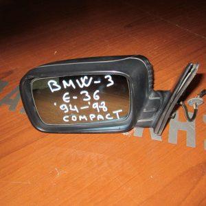 BMW E36 compact 1994-1998 καθρέπτης αριστερός ηλεκτρικός άβαφος
