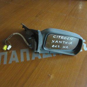 Citroen Xantia 1993-2001 καθρέπτης δεξιός ηλεκτρικός ασημί