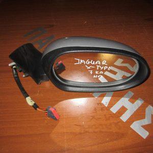 Jaguar X-Type 2001-2007 καθρέπτης δεξιός ηλεκτρικός 7 καλώδια ασημί