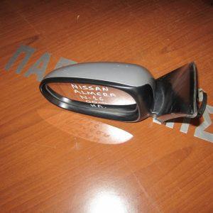 Nissan Almera N16 2000-2006 καθρέπτης αριστερός ηλεκτρικός ασημί