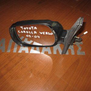 Toyota Corolla Verso 2002-2004 καθρέπτης αριστερός ηλεκτρικός (χωρίς καπάκι)