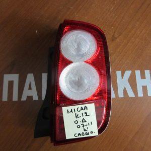 fanari piso dexi nissan micra k12 cabrio 2007 2010 300x300 Φαναρι πισω δεξι Nissan Micra K12 cabrio  2007 2010