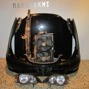 metopi mouri empros komple toyota avensis 2000 2003 mavro kapo 2 ftera profilachtiras traversa psigia komple 2 fanaria maska 300x300 Μετωπη μουρη εμπρος κομπλε Toyota Avensis 2000 2003 μαυρο (καπο 2 φτερα προφυλαχτηρας τραβερσα ψυγεια κομπλε 2 φαναρια μασκα)
