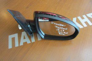 Hyundai Tucson 2015-2017 καθρεπτης ηλεκτρικος δεξιος με ηλεκτρικη ανακλιση μαυρος