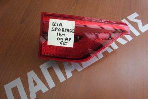 Kia Sportage 2016-2017 φαναρι πισω αριστερο εσωτερικο