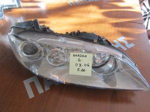 Φανάρι εμπρός δεξιό Mazda 6 2002-2006