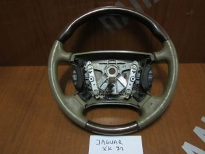 Jaguar XK8-XKR 1996-2006 βολάν τιμονιού χειριστήριο καφε με ξυλο