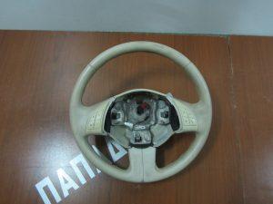 Fiat 500 2007-2016 βολάν τιμονιού δέρμα ζαχαρί χειριστήρια