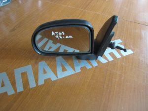 Hyundai Atos 1997-2000 καθρέπτης αριστερός μηχανικός άβαφος