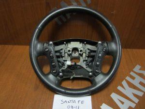 Hyundai Santa Fe 2006-2013 βολάν τιμονιού δερμα χειριστήρια