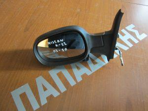 Nissan Micra K12 2003-2010 καθρεπτης αριστερος ηλεκτρικος μαυρος