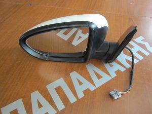 Nissan Qashqai 2006-2013 καθρέπτης αριστερός ηλεκτρικά ανακλινόμενος άσπρος