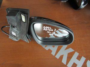 Opel Astra-J 2010-2015 καθρεπτης δεξιος ηλεκτρικα ανακλινομενος μαυρος