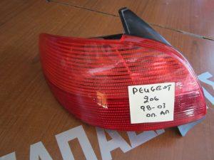 Peougeot 206 1998-2003 φαναρι πισω αριστερο