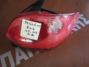 Peougeot 206 2003-2009 φαναρι πισω δεξιο