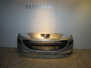 Peugeot 207 2006-2009 προφυλακτηρασ εμπρος ασημι