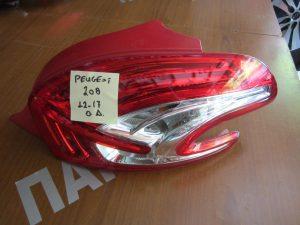 Peugeot 208 2012-2017 φανάρι πίσω δεξιό
