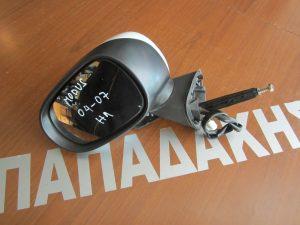 Renault Modus 2005-2008 καθρεφτης αριστερος  ηλεκτρικος ασπρος