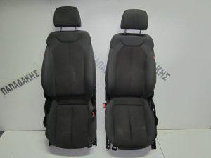 Seat Leon 2005-2009 με A/B δεξιό-αριστερό γκρι κάθισμα εμπρός