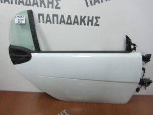 Smart 1000 451 2007-2014 πόρτα δεξιά άσπρη χωρίς τζάμι