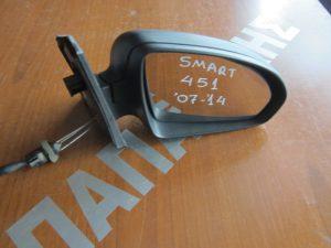 Smart 451 2007-2014 καθρεπτης δεξιος μηχανικος αβαφος