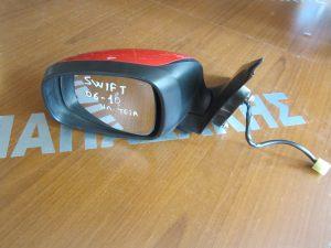 Suzuki Swift 2005-2011 καθρέπτης αριστερός ηλεκτρικός κόκκινος
