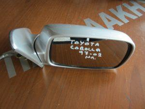 Toyota Corolla 1997-2002 καθρεπτης δεξιος ηλεκτρικος ασημι