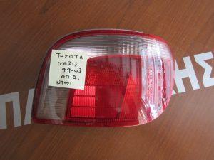 Toyota Yaris 1999-2003 φανάρι πίσω δεξί με φισα