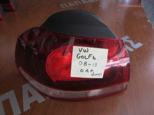 VW Golf 6 2008-2013 φανάρι πίσω αριστερο φιμε