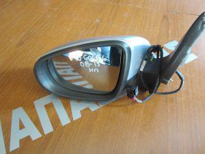 VW Golf-6 2008-2013 καθρεπτης αριστερος ηλεκτρικος ασημι