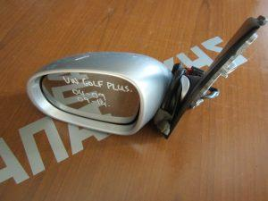 VW Golf Plus 2004-2014 καθρεπτης αριστερος ηλεκτρικος ασημι