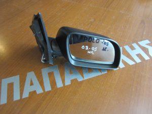 VW Polo 2002-2005 καθρεπτης δεξιος ηλεκτρικος αβαφος