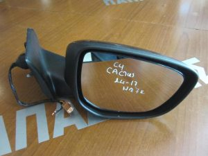 Citroen C4 Cactus 2014-2017 καθρέπτης δεξιός ηλεκτρικός 7 καλώδια μαύρος