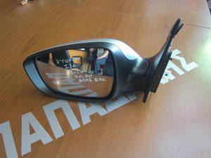 Hyundai I-30 2012-2016 καθρέπτης αριστερός ηλεκτρικά ανακλινόμενος φλας 8 ακίδες ασημί
