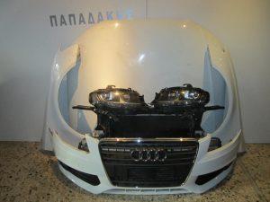 audi a4 2008 2012 mouri koble aspri 300x225 Audi A4 2008 2012 μετώπη μούρη εμπρός κομπλέ άσπρη