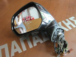 Citroen C4 Picasso 2007-2013 καθρέπτης αριστερός γαλλικός ηλεκτρικά ανακλινόμενος φως ασφαλείας μαύρος