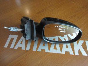 Lancia Y 2011-2017 καθρέπτης δεξιός μηχανικός μαύρος