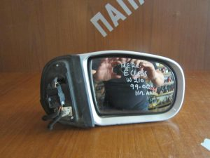Mercedes E Class W210 1999-2002 καθρέπτης δεξιός ηλεκτρικά ανακλινόμενος ασημί