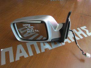 Nissan X-Trail 2001-2007 καθρέπτης αριστερός ηλεκτρικά ανακλινόμενος ασημί