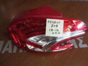 Peugeot 208 2012-2016 φανάρι πίσω δεξιό