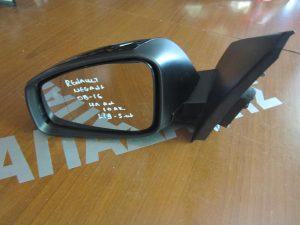 Renault Megnae 2008-2016 καθρέπτης αριστερός ηλεκτρικά ανακλινόμενος μαύρος (10 καλώδια-5θυρο-Station Wagon)