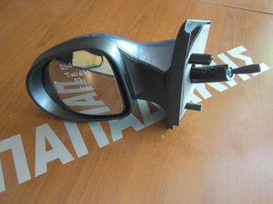 Renault Twingo 2007-2011 καθρέπτης αριστερός μηχανικός ανθρακί