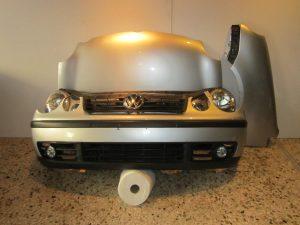 VW Polo 2002-2005 μούρη κομπλέ ασημί