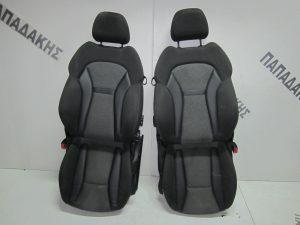 audi a1 2010 2015 kathismata ebros zevgos aristero dexi me ab mavro gkri 300x225 Audi A1 2010 2015 καθίσματα εμπρός ζεύγος αριστερό δεξί με A/B μαύρο γκρι