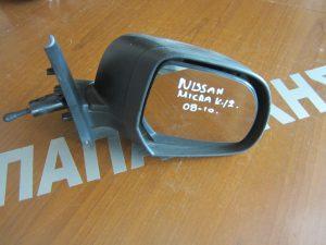 Nissan Micra k12 2008-2010 καθρέπτης δεξιός μηχανικός άβαφος
